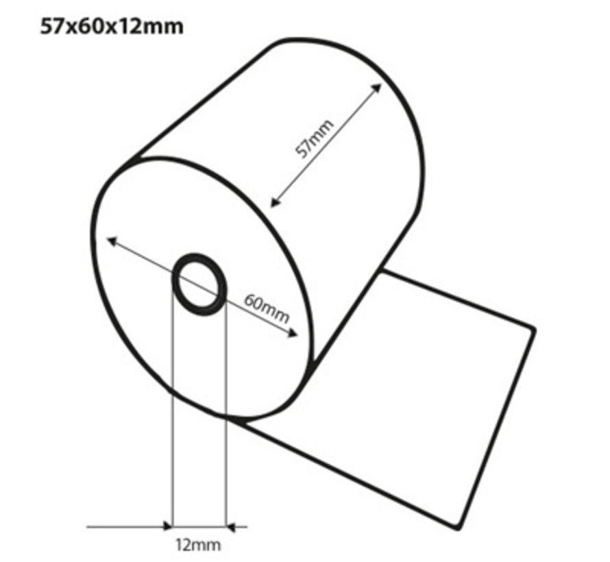 Thermorollen 57x60x12 mm