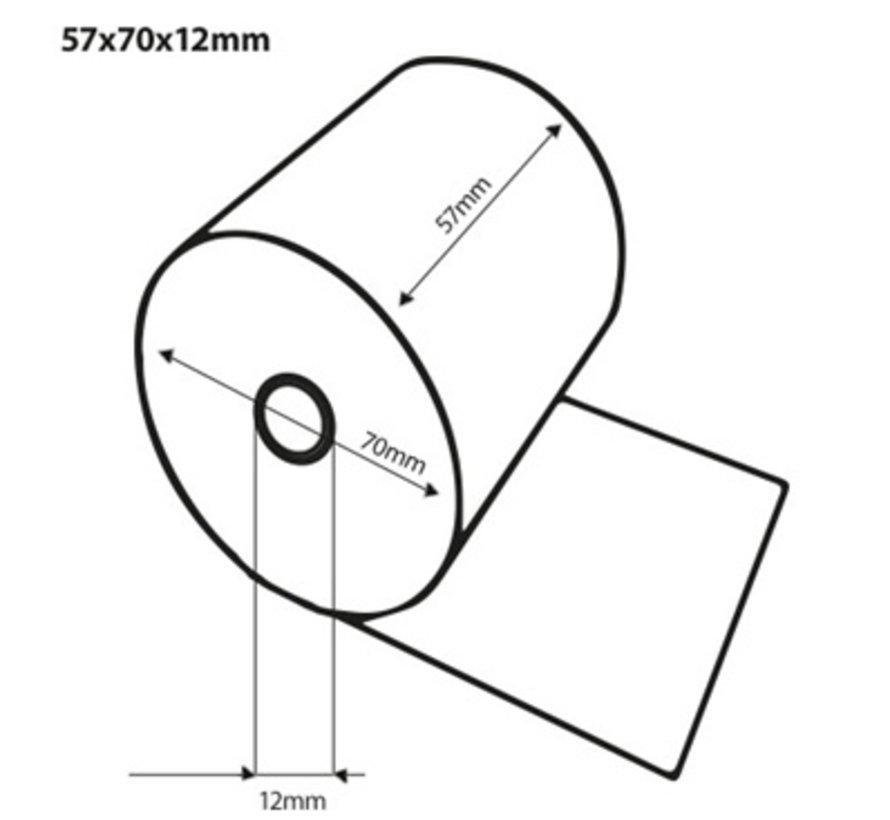 Thermorollen 57x70x12 mm