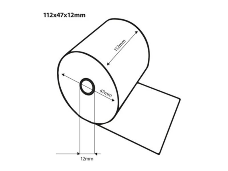 Thermorollen 112x47x12 mm