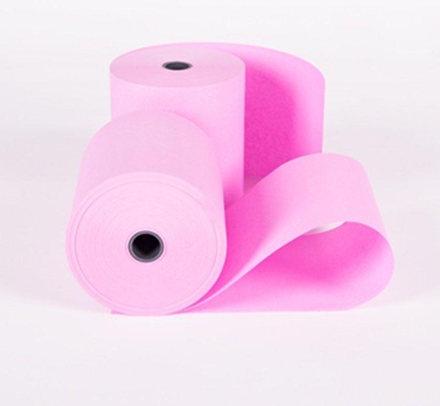 Roze kassarollen houtvrij 76x70x12 mm