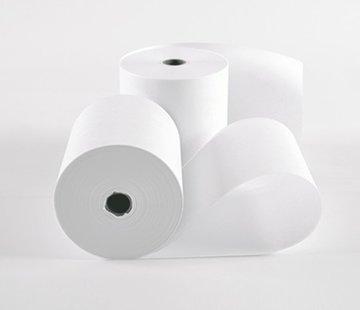 Witte kassarollen houtvrij 82x80x17 mm