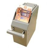 Cashbox 2-delig met 2 sleutels grijs