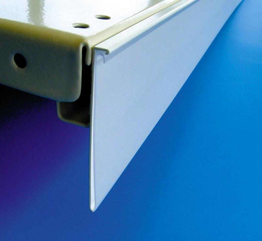 Scannerprofiel-prijskaartrail DBR met nagelgrip dubbelzijdig tape