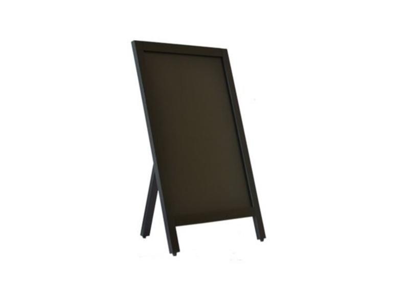 Krijtbord Zwart 55x85 cm (enkelzijdig)
