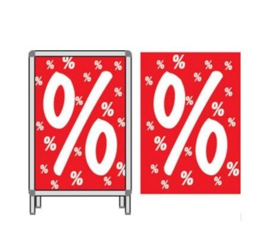 Plakkaat procentteken