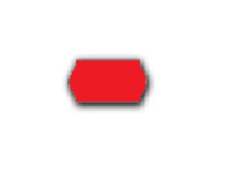 BLITZ prijsetiketten 22x12 rood - 1 ds à 42 rol
