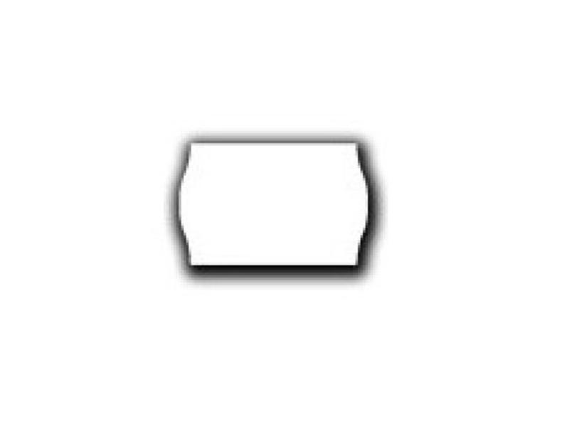 Prijsetiketten 26x16 wit - 1 ds á 36 rol (geschikt voor METO)