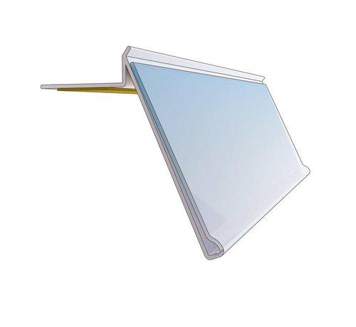 Barcode-prijskaartrail HE/BE met inschuifhoogte 39 mm