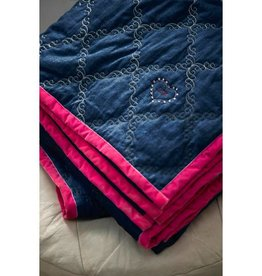 Little Diva Jeans bedspread Little Diva Blue
