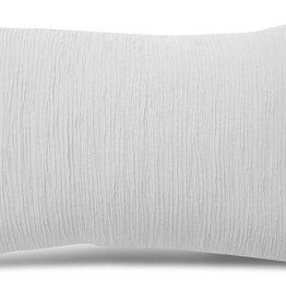 MARGARET MUIR Stiched Strips cushion Margaret Muir Whi