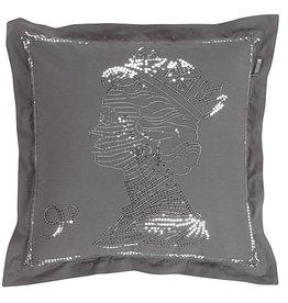 KARDOL & VERSTRATEN Hyde Park Queen cushion KV Grey