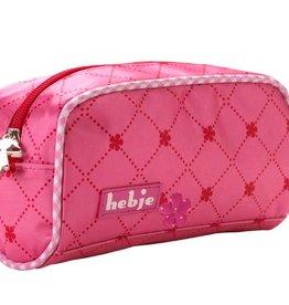 HebjeHebje Hebje Bags - Toilet Bag 18*10*7 Pink