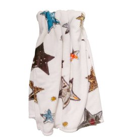 Beddinghouse Kids Beddinghouse Kids Throw Lots of Stars Blue Grey