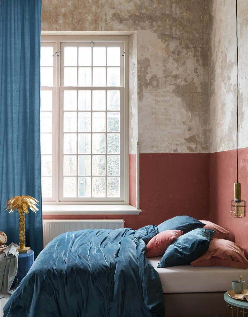 At Home by Beddinghouse Tender Dekbedovertrek - Blauw