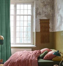 At Home by Beddinghouse At Home by Beddinghouse Tender Dekbedovertrek - Donkerroze