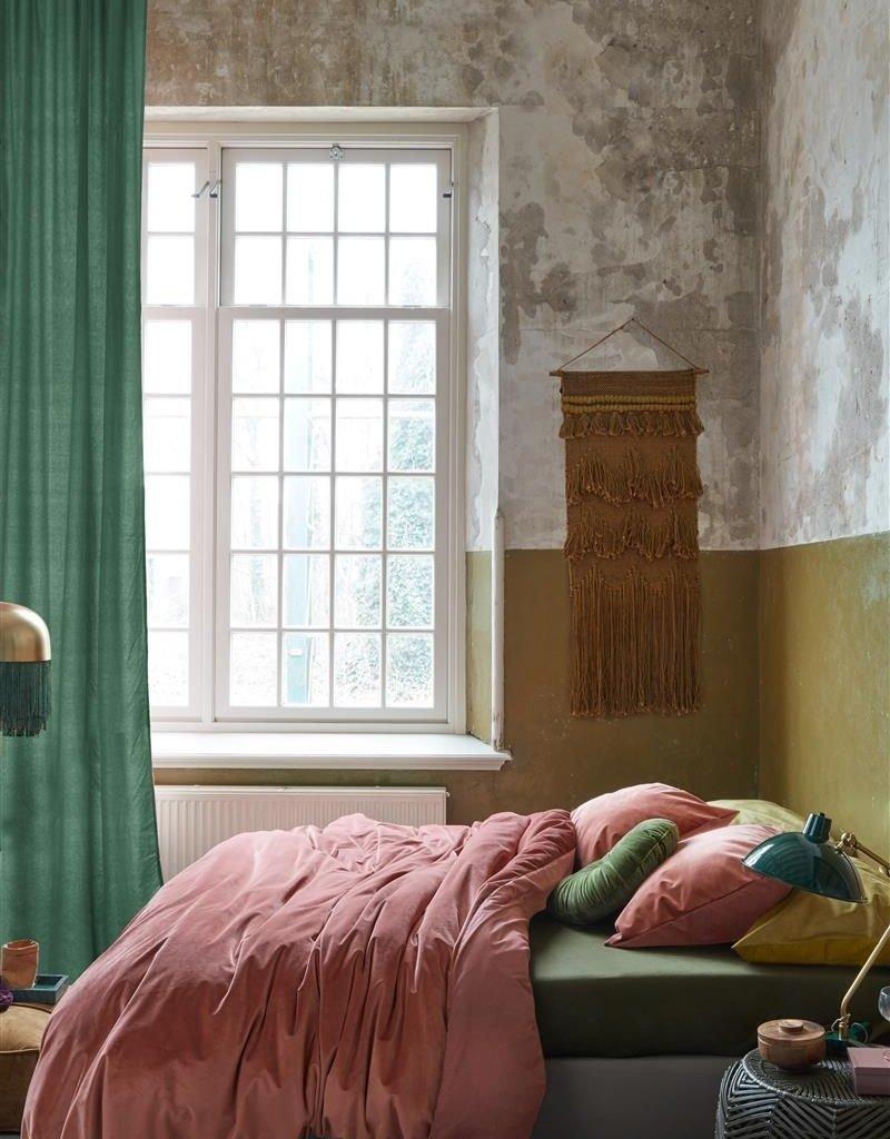 At Home by Beddinghouse Tender Dekbedovertrek - Donkerroze