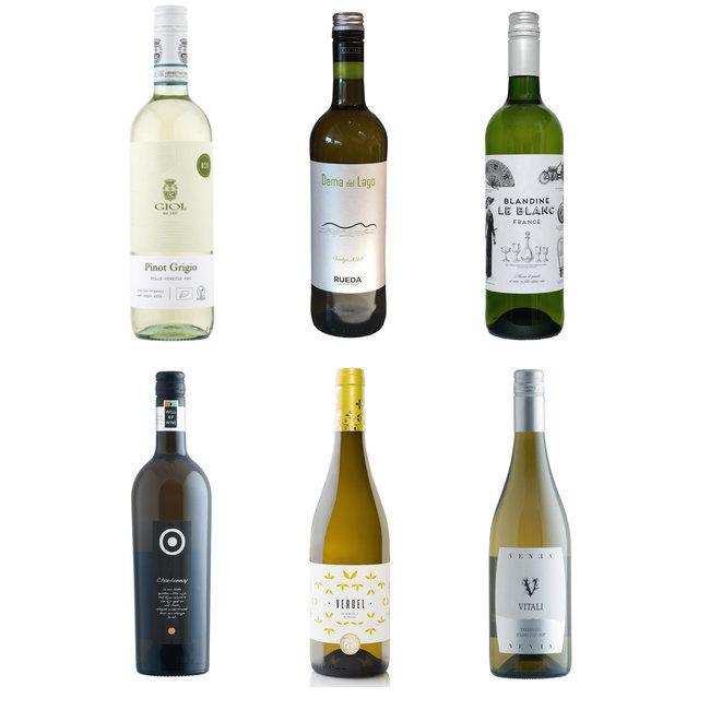 Toegankelijke Wijn doos wit
