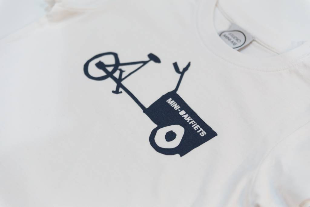 Studio Mini-Me Bakfiets t-shirtset Mama+kind