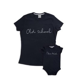 Studio Mini-Me Oldschool + New kid set Mama + romper