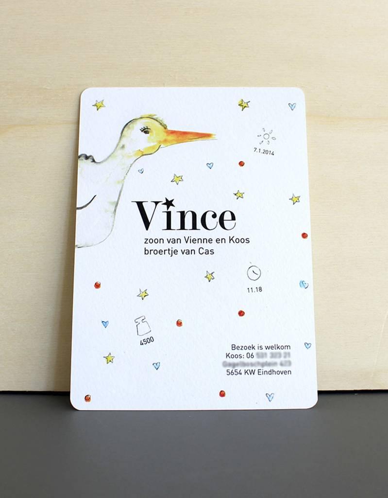 Me and Mini-Me Veerle ontwerpt kaarten
