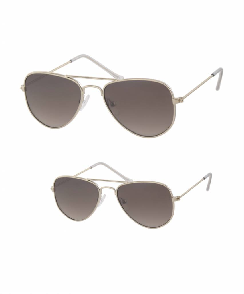 80957eb0a745ea Pilotenbrillen Mama+kind goud - Studio Mini-Me