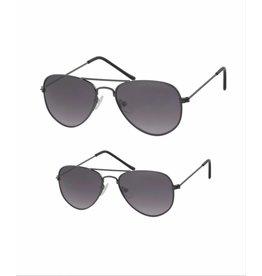 Studio Mini-Me Pilotenbrillen donker grijs moeder + kind/peuter