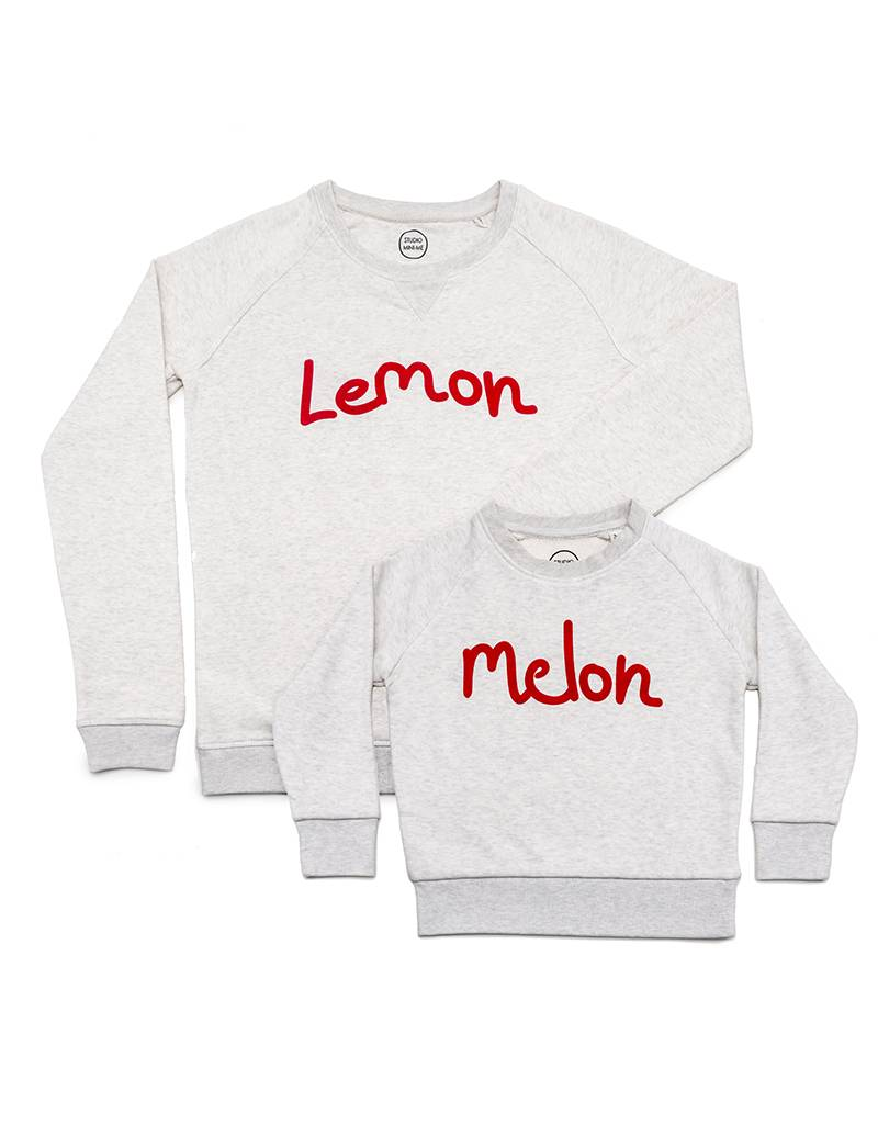 Studio Mini-Me Lemon Sweater vrouw
