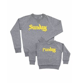 Studio Mini-Me Sunday + Funday sweaterset unisex