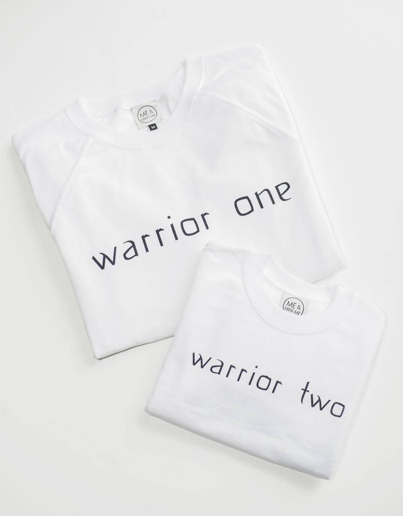 Me and Mini-Me Sweater Warrior Two Kind