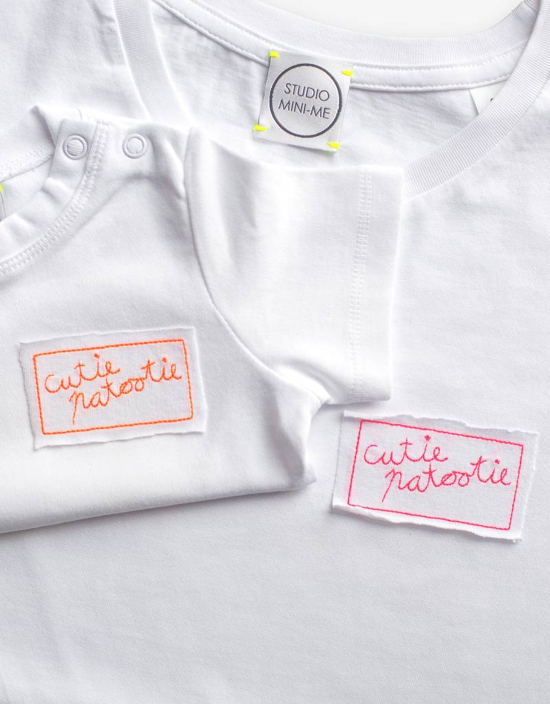 Studio Mini-Me Cutiepatootie t-shirt dames
