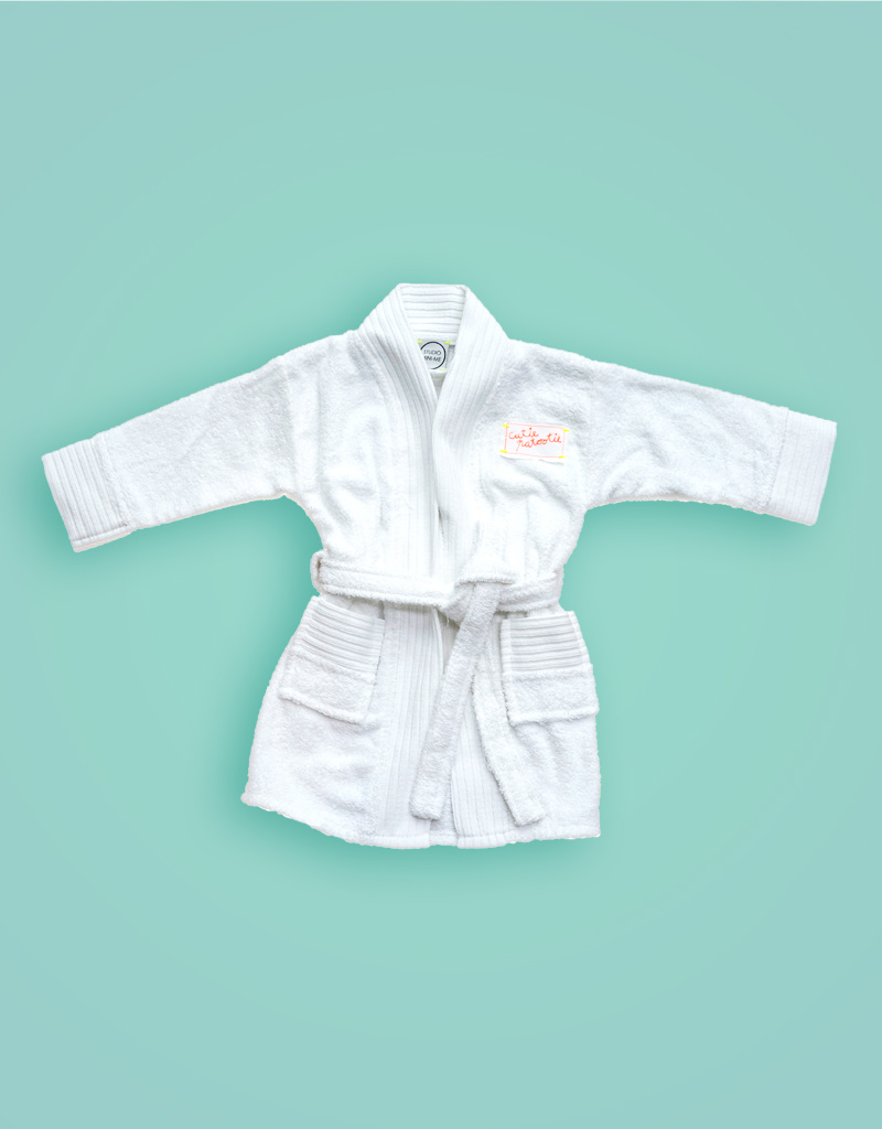 Studio Mini-Me Badjas Cutiepatootie baby/kind