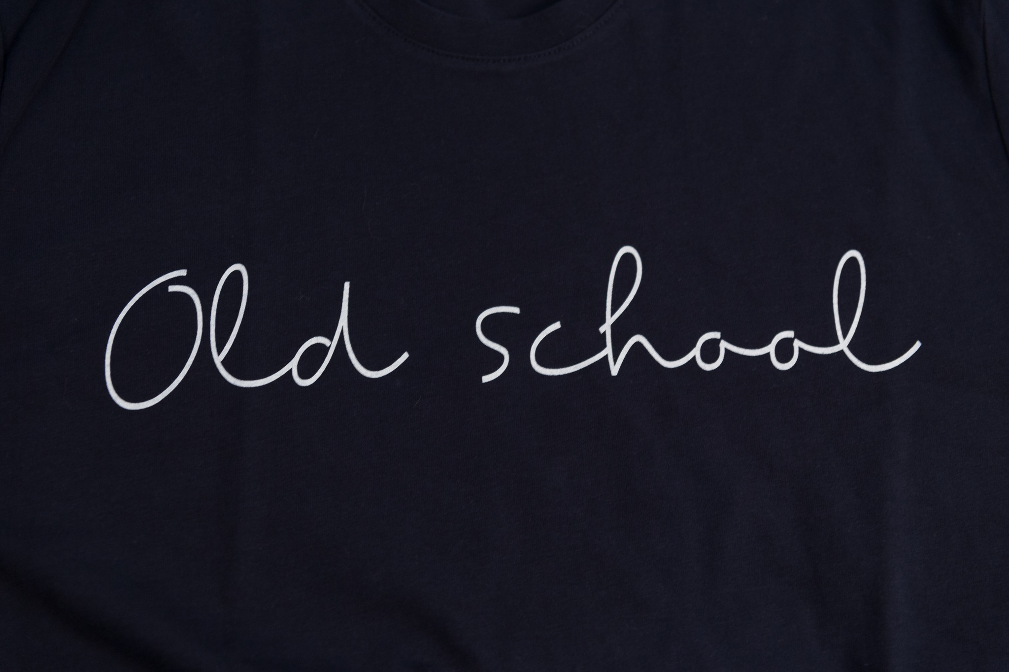 Old school  Kid t-shirt man