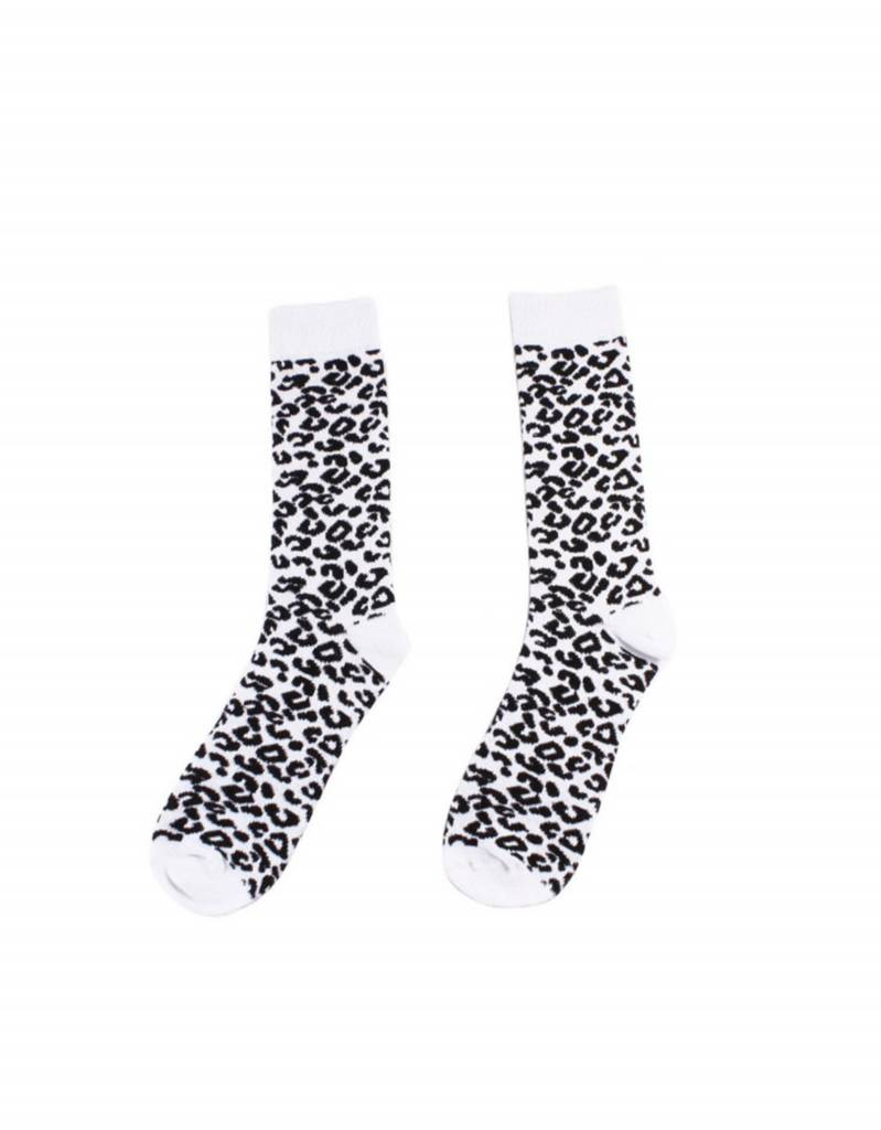 Studio Mini-Me Sokken met panter print mama