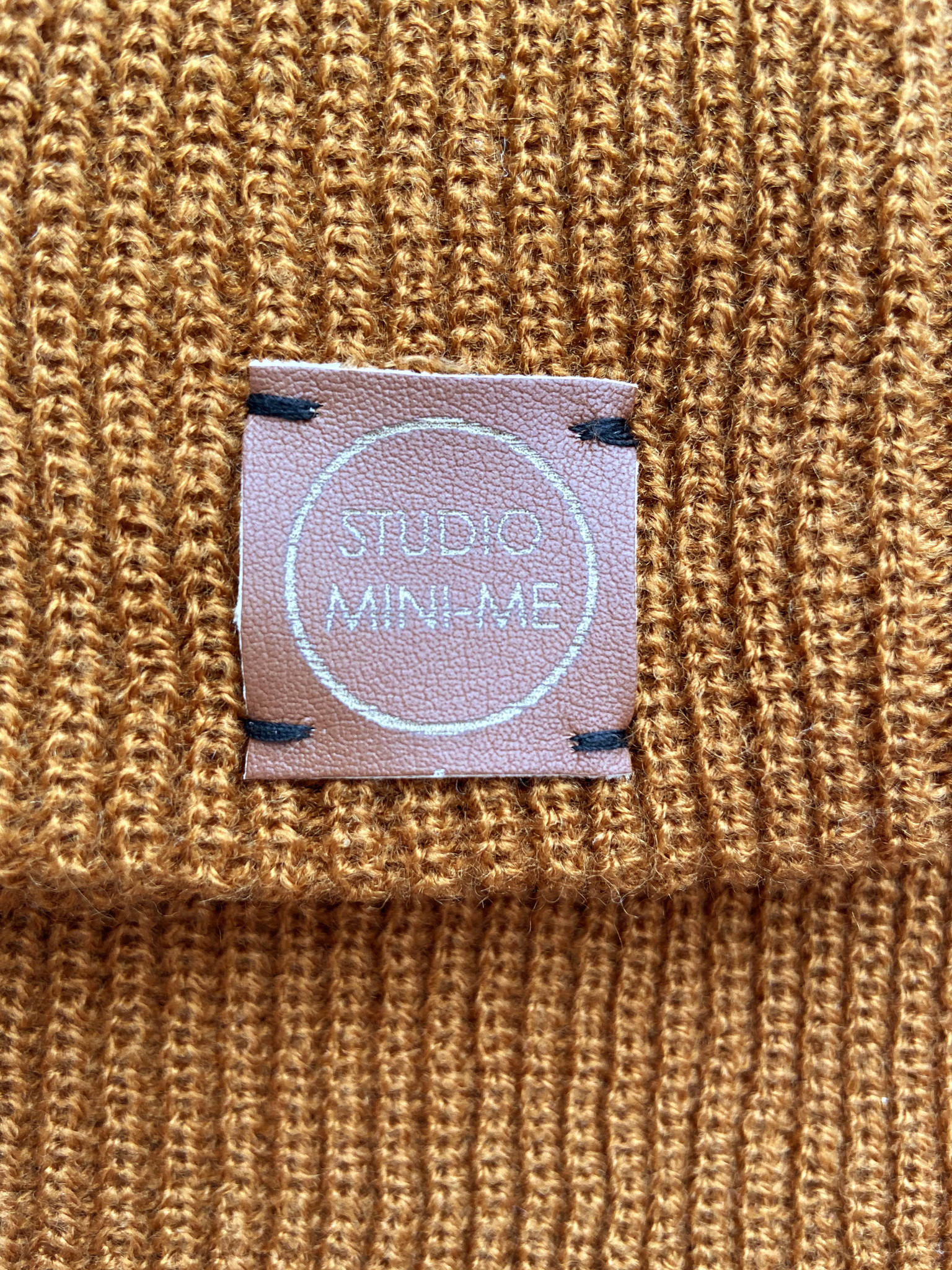 Studio Mini-Me Bruine mutsen set Studio Mini-Me
