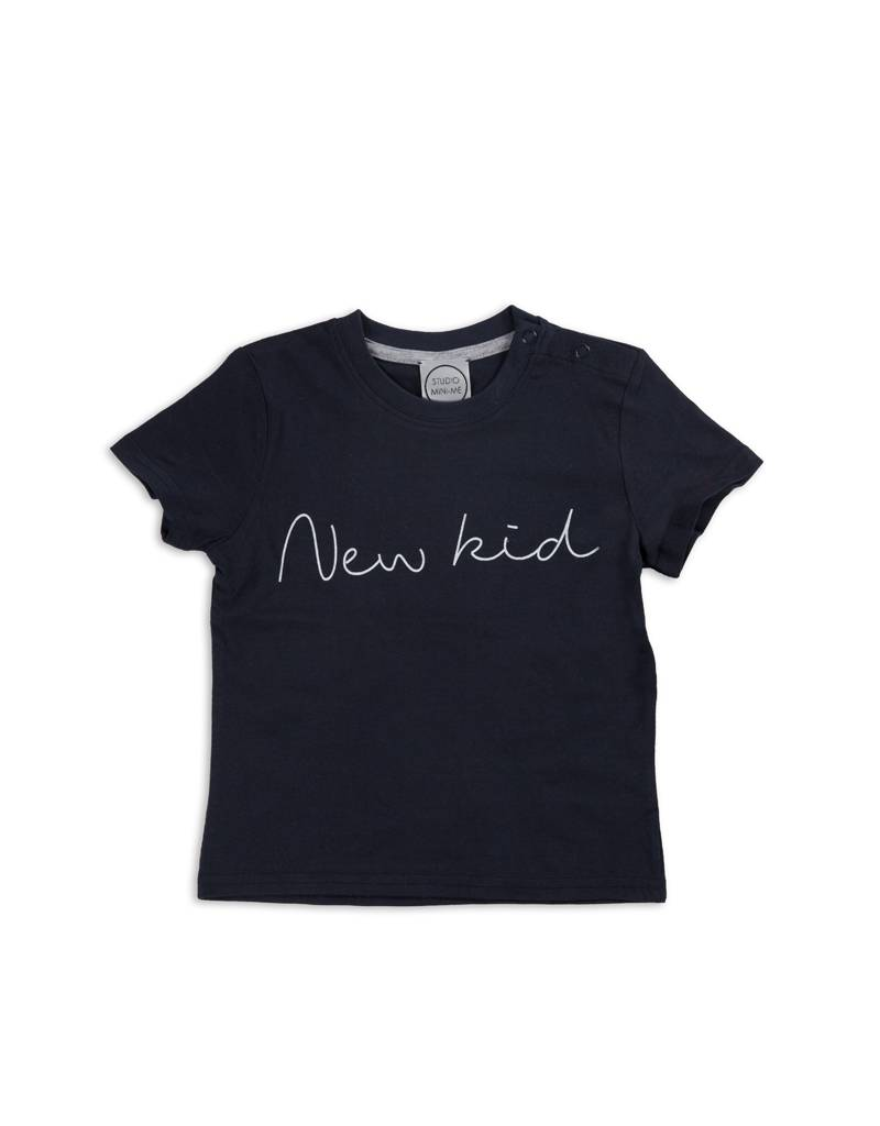 Studio Mini-Me Oldschool t-shirtset Papa+kind