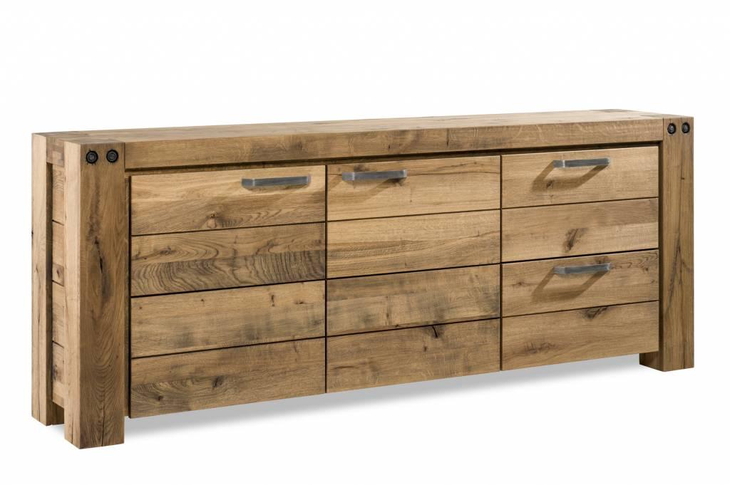 Sideboard 2 doors + 2 drawers - 230cm