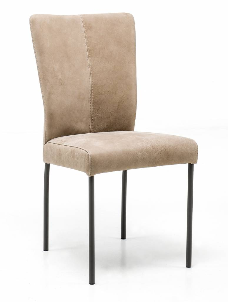 Chair in Leather Safari chair leg without wheel