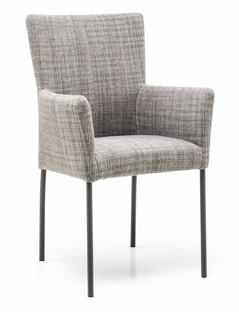 Armchair in fabric Gunnar chair leg without wheel