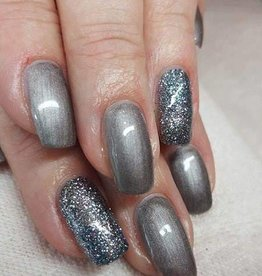 Gel Polish Metallic Grey