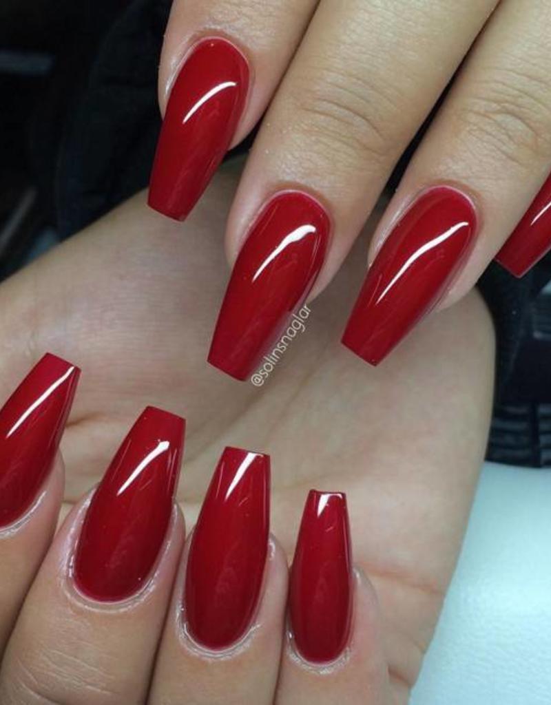 Gel Polish Candy Red