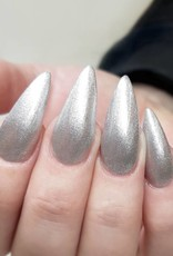 Gel Polish Pearly Silver