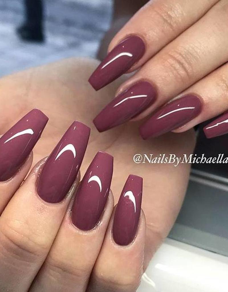 Gel Polish Lipstick Lilly Nails