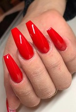Gel Polish Fire Red