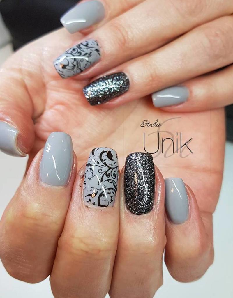 Gel Polish Feather Grey