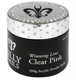 Acrylic Clear Pink 200gr refill