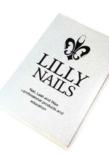 Notitieboek Lilly Nails Zilver glitter
