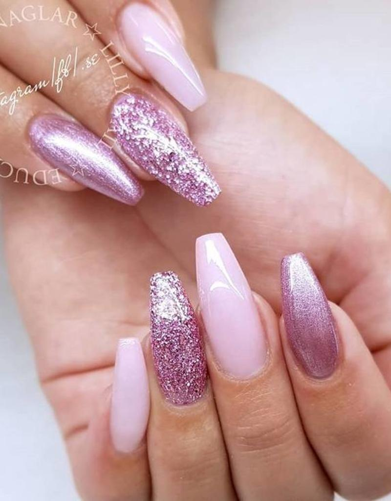 Acrylic Powder Frosted Pink