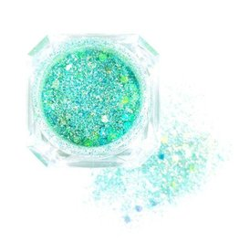 GLITTER MIX Solin Turquoise