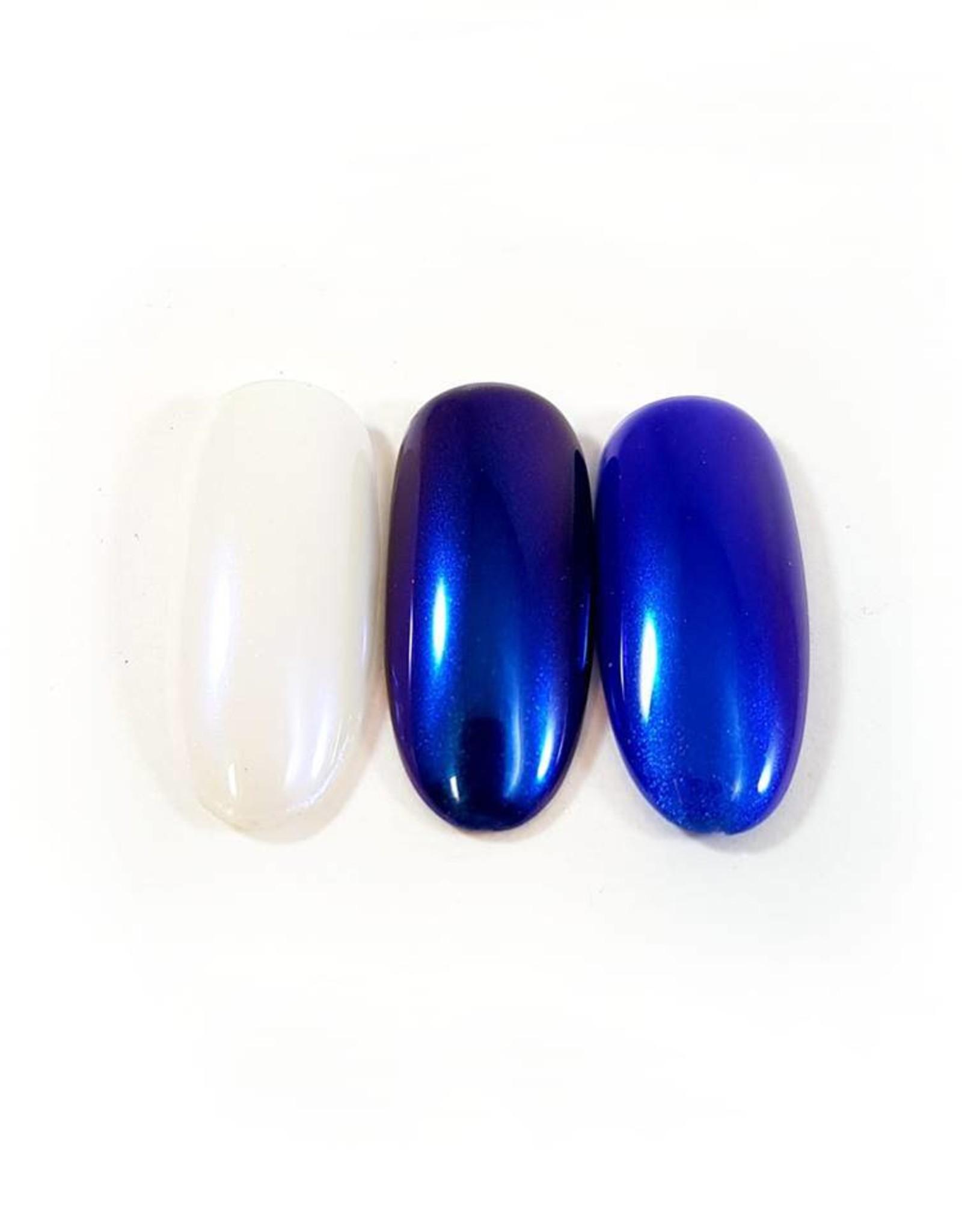 Nailart Chrome Purple-blue