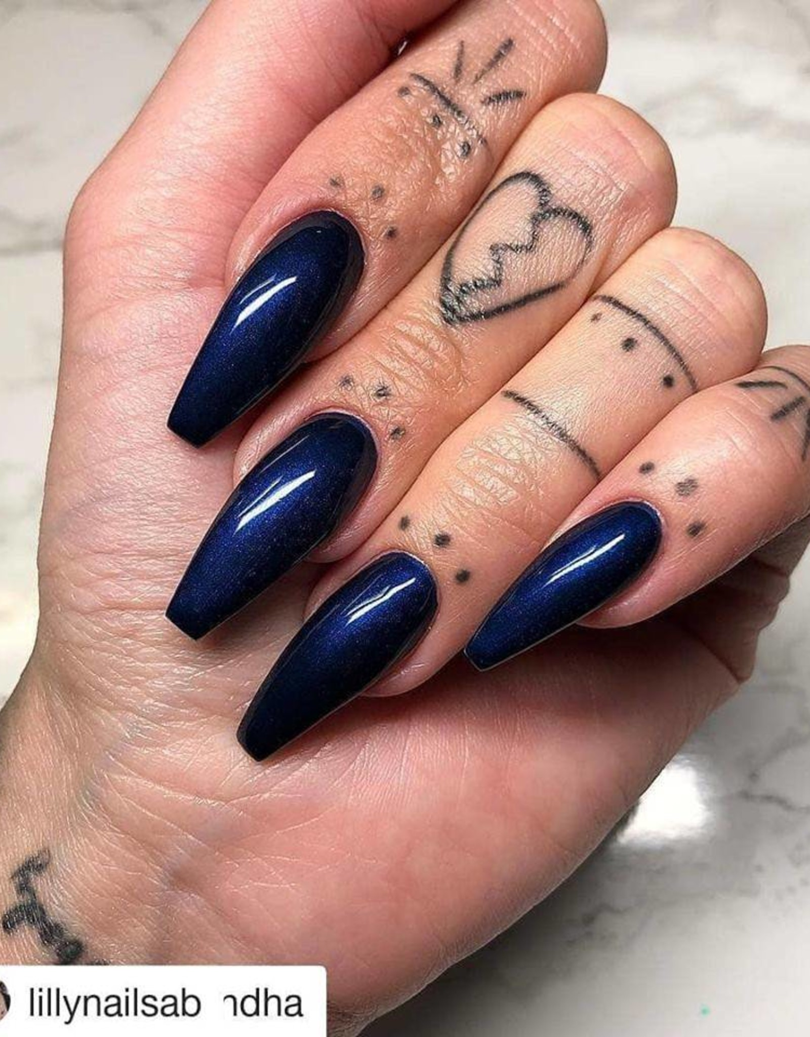 Gel Polish Midnight Blue